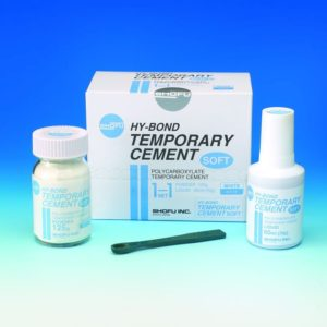 HY-Bond Temporary Cement Soft, non-Eugenol cement