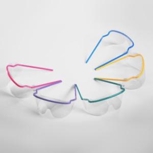 TIDI védőszemüveg előlap